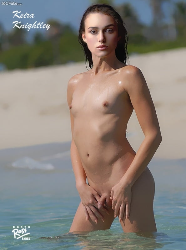 Tranny in water nude