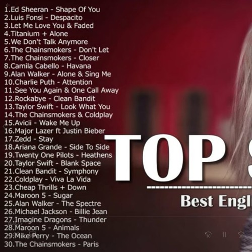 Top english songs site