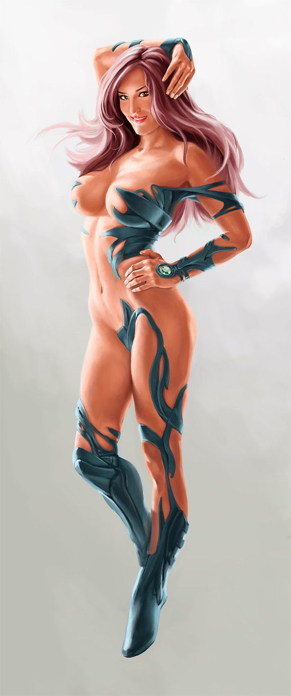 Nude images of the women of witchblade
