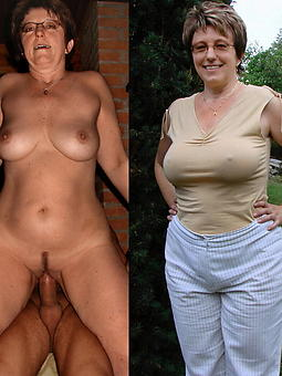 Mature women in dresses then nude pics