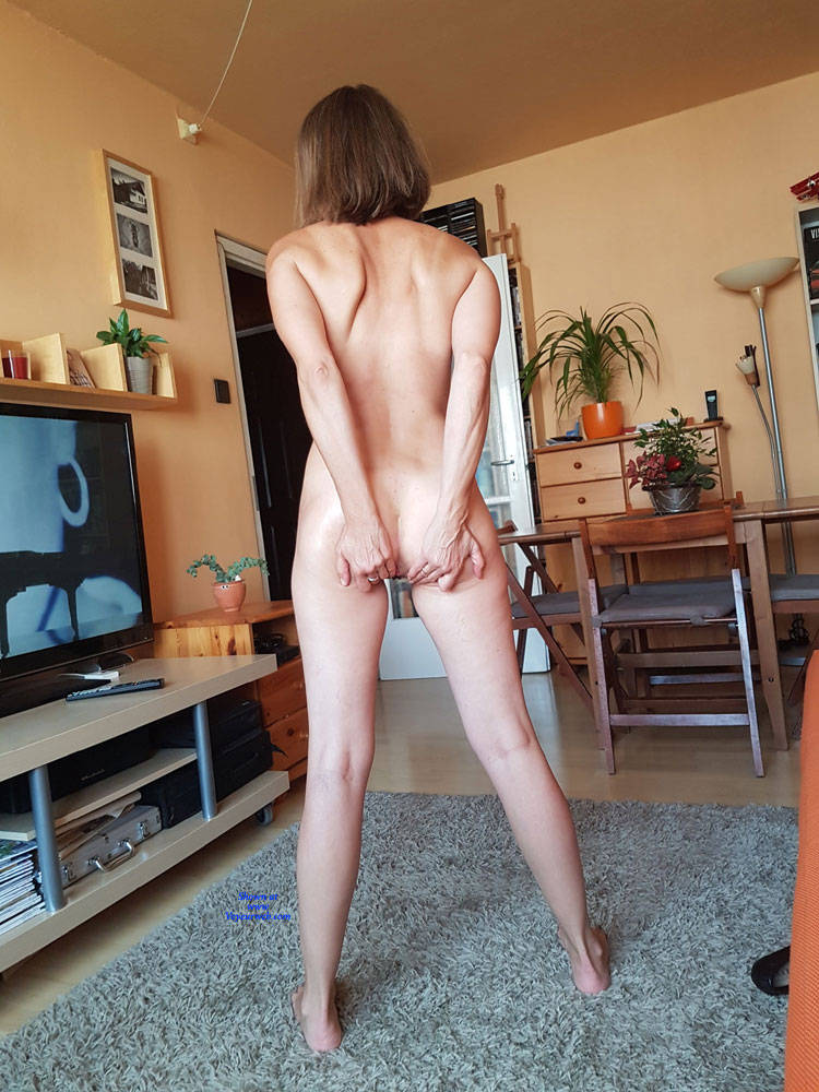 Wife nude at party