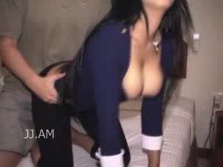 Dry humping doggy style