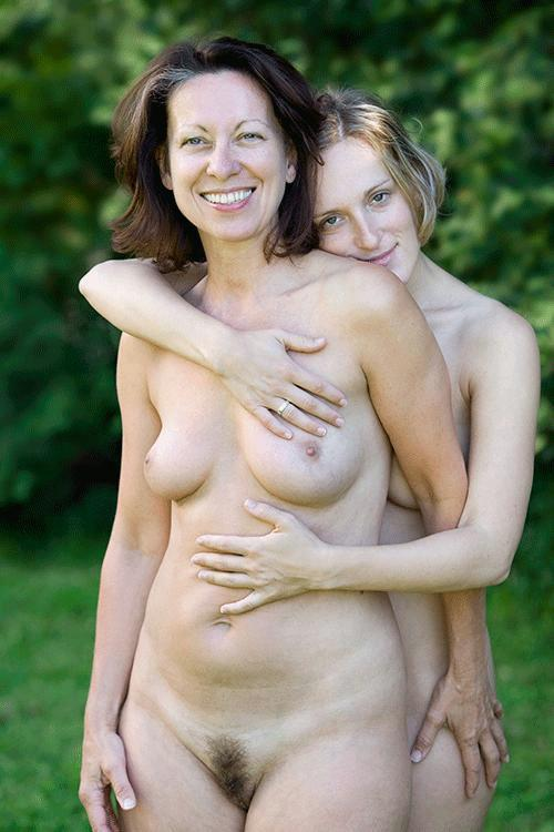 Nude mother
