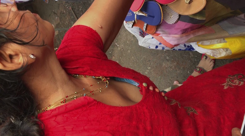 Indian downblouse