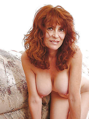 Mature redhead wife naked