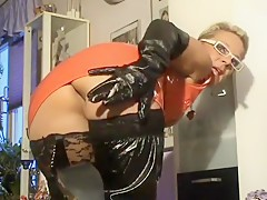 Nasty fat whores in latex